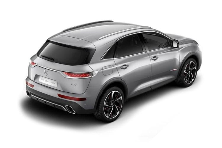 DS Automobiles DS 7 Crossback SUV 5Dr 4x4 1.6 E-TENSE PHEV 13.2kWh 300PS Ultra Prestige 5Dr EAT8 [Start Stop] back view
