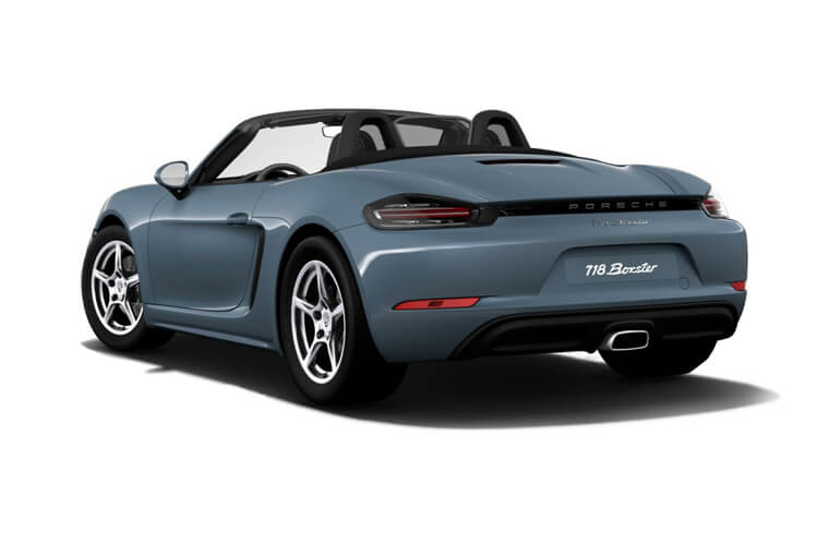 Porsche 718 Boxster Convertible 2.0 T 300PS  2Dr Manual [Start Stop] back view