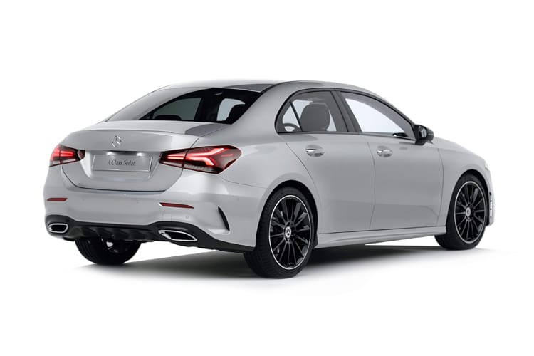 Mercedes-Benz A Class A180 Saloon 4Dr 2.0 d 116PS AMG Line Premium 4Dr 8G-DCT [Start Stop] back view