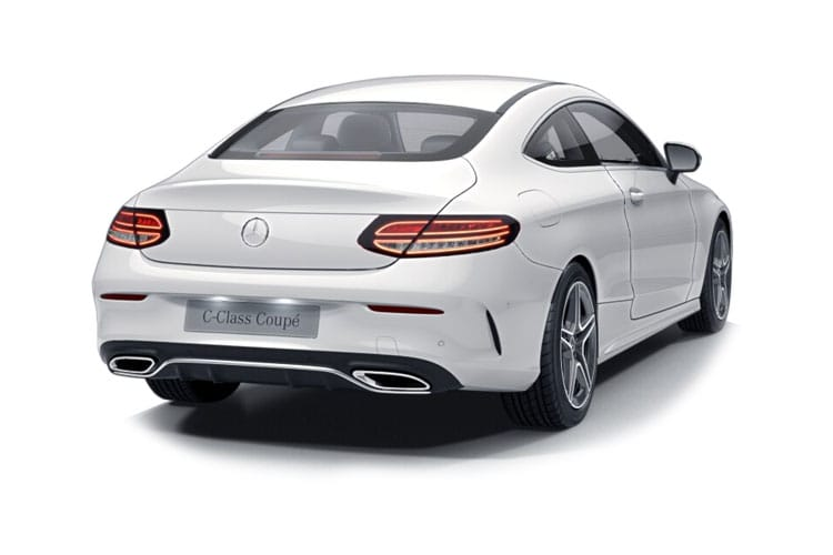 Mercedes-Benz C Class AMG C43 Coupe 4MATIC 3.0 V6 390PS Premium 2Dr G-Tronic+ [Start Stop] back view