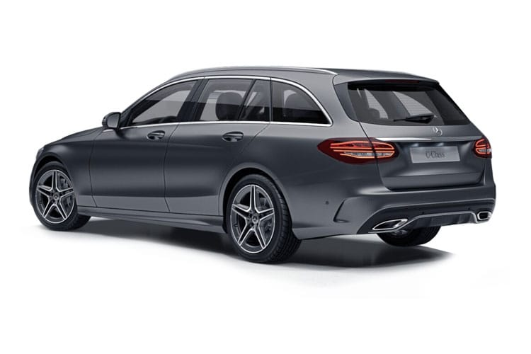 Mercedes-Benz C Class C200 Estate 1.5 MHEV 198PS Sport Edition 5Dr G-Tronic+ [Start Stop] back view