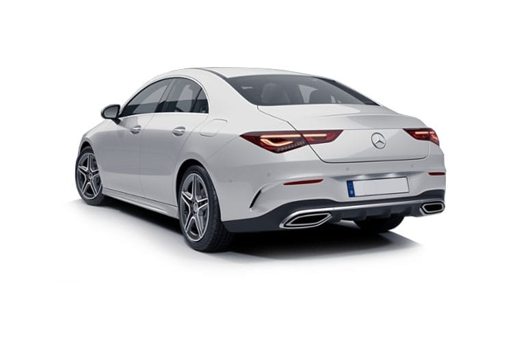 Mercedes-Benz CLA CLA180 Coupe 4Dr 1.3  136PS AMG Line Premium 4Dr 7G-DCT [Start Stop] back view