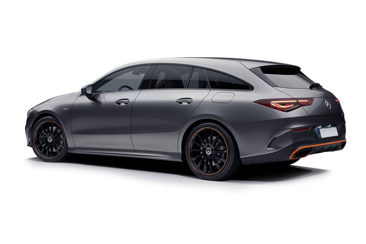 Mercedes-Benz CLA CLA250 Shooting Brake 2.0  224PS AMG Line 5Dr 7G-DCT [Start Stop] back view