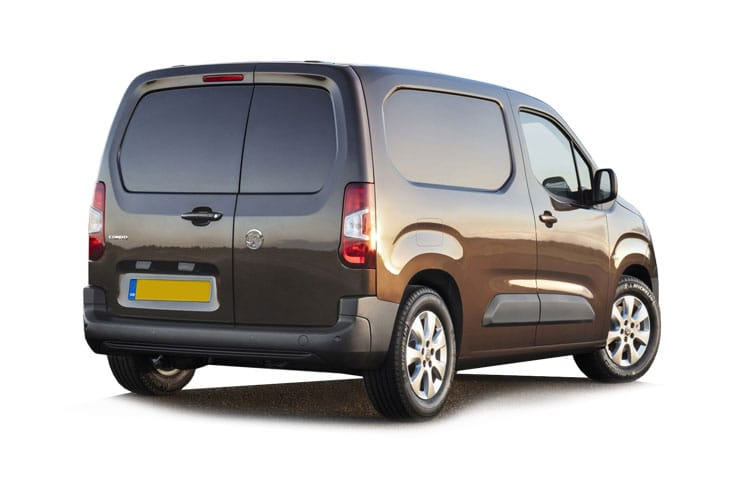 Vauxhall Combo Cargo L2 2300 1.5 Turbo D FWD 100PS Sportive Van Manual [Start Stop] back view