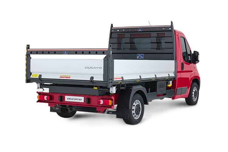 Fiat Ducato HGV 40 Maxi LWB 2.3 Multijet Power FWD 180PS 1-Way Tipper Manual [Start Stop] back view