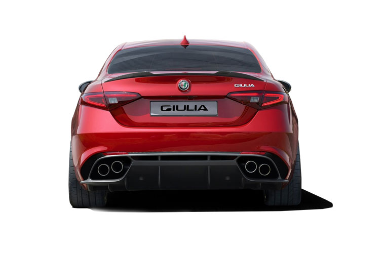 Alfa Romeo Giulia Saloon 2.0 T 200PS Sprint 4Dr Auto [Start Stop] [Driver Assistance Plus] back view