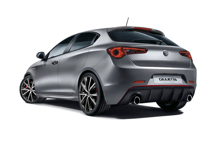 Alfa Romeo Giulietta Hatch 5Dr 1.6 JTDM-2 120PS Speciale 5Dr Manual [Start Stop] back view