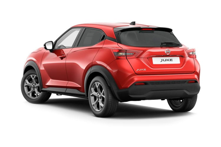 Nissan Juke SUV 1.0 DIG-T 114PS Visia 5Dr Manual [Start Stop] back view