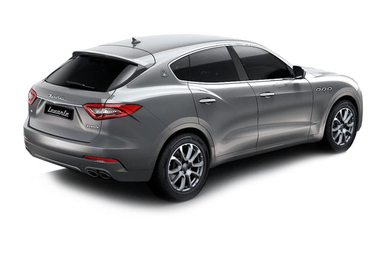 Maserati Levante SUV 4wd 3.0 V6 430PS S GranLusso 5Dr ZF [Start Stop] back view