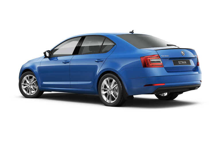 Skoda Octavia Hatch 5Dr 2.0 TDi 115PS SE Technology 5Dr Manual [Start Stop] back view