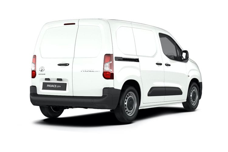 Toyota PROACE CITY Short 1.5  BlueHDi FWD 100PS Active Van Manual [Start Stop] back view