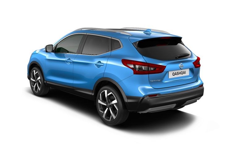 Nissan Qashqai SUV 2wd 1.3 DIG-T 140PS Acenta Premium 5Dr Manual [Start Stop] back view