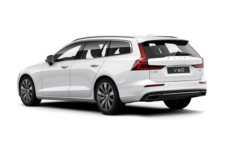 Volvo V60 Estate 2.0 B3 MHEV 163PS Inscription 5Dr Auto [Start Stop] back view