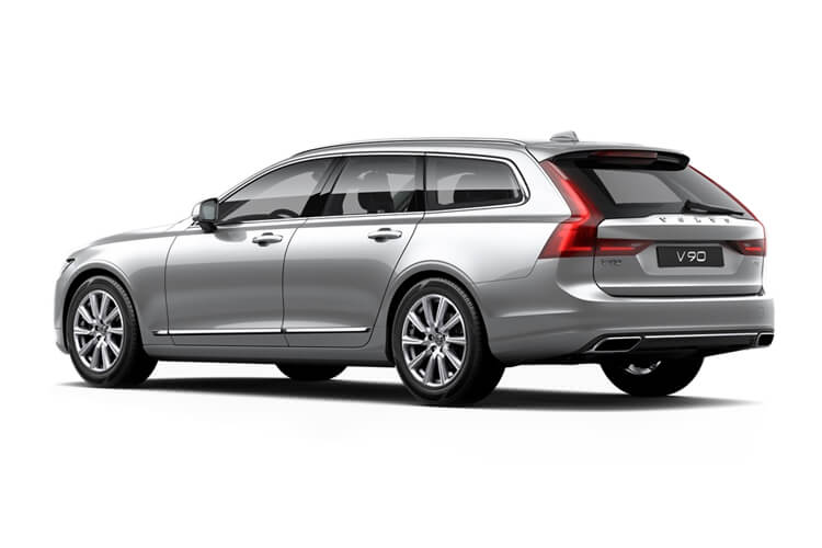 Volvo V90 Estate 2.0 B5 MHEV 250PS R DESIGN 5Dr Auto [Start Stop] back view