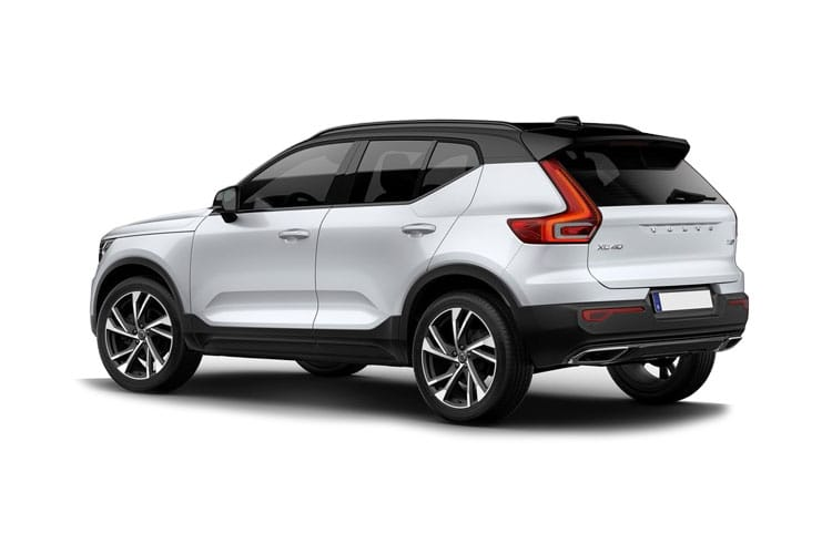 Volvo XC40 SUV AWD 2.0 B4 MHEV 197PS R DESIGN 5Dr Auto [Start Stop] back view