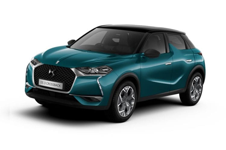 DS Automobiles DS 3 Crossback 5Dr 1.5 BlueHDi 110PS Elegance 5Dr Manual [Start Stop] front view