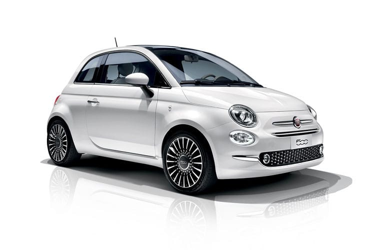 Fiat 500 Hatch 3Dr 1.0 MHEV 70PS Rock Star 3Dr Manual [Start Stop] front view