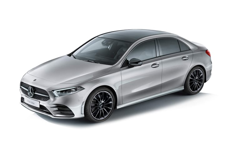 Mercedes-Benz A Class A180 Saloon 4Dr 2.0 d 116PS AMG Line Premium 4Dr 8G-DCT [Start Stop] front view