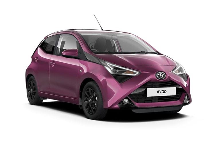 Toyota Aygo Funroof Hatch 5Dr 1.0 VVTi 71PS x-trend 5Dr Manual front view