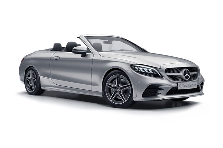 Mercedes-Benz C Class AMG C63 Cabriolet 4.0 V8 BiTurbo 510PS S Night Edition Premium Plus 2Dr SpdS MCT [Start Stop] front view