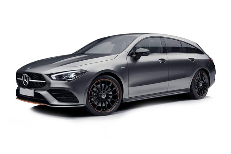 Mercedes-Benz CLA CLA250 Shooting Brake 2.0  224PS AMG Line 5Dr 7G-DCT [Start Stop] front view