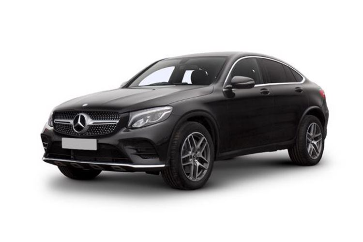 Mercedes-Benz GLC GLC300e Coupe 4MATIC 2.0 d PiH 13.5kWh 306PS AMG Line 5Dr G-Tronic+ [Start Stop] front view