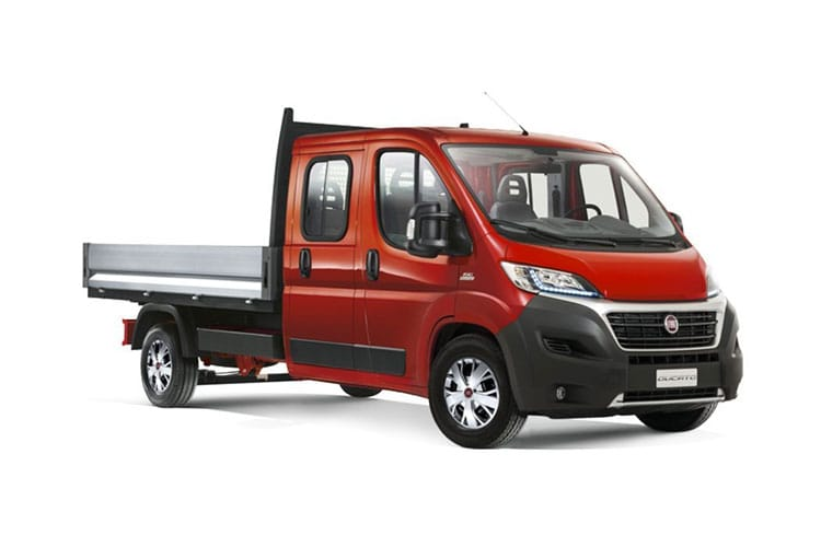 Fiat Ducato HGV 40 Maxi LWB 2.3 Multijet Power FWD 180PS 1-Way Tipper Manual [Start Stop] front view