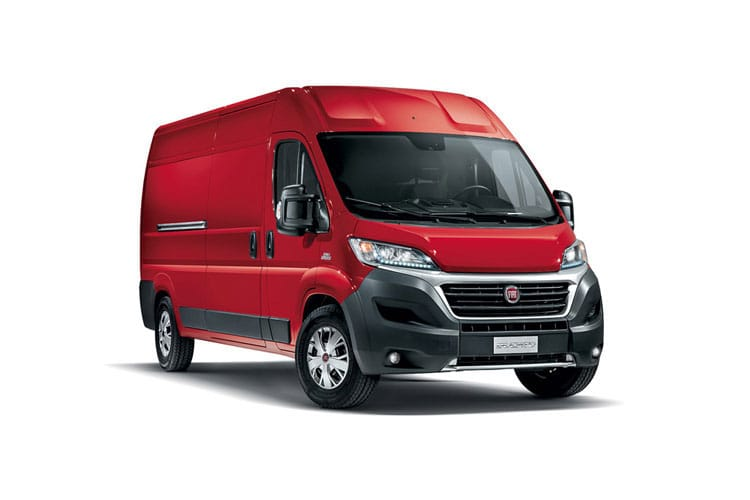 Fiat Ducato e-Ducato 35 LWB Elec 47kWh 90KW FWD 122PS  Van Extra High Roof Auto [22kW Charger] front view