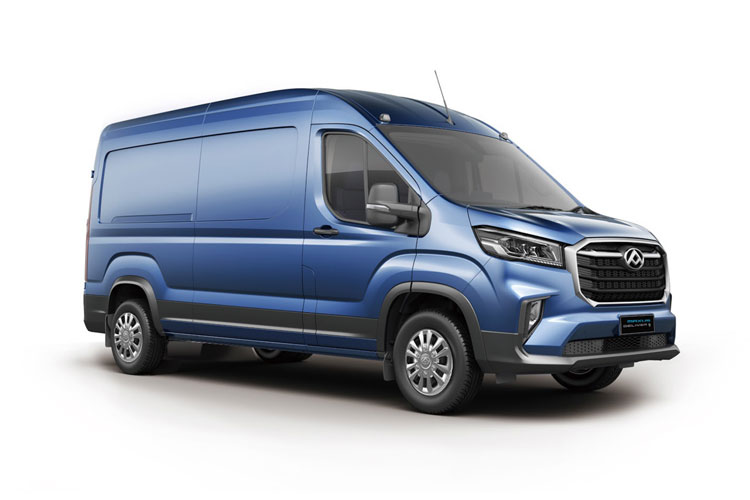 MAXUS DELIVER 9 eDELIVER 9 L3 FWD Elec 51.5kWh 150KW FWD 204PS  Van High Roof Auto front view