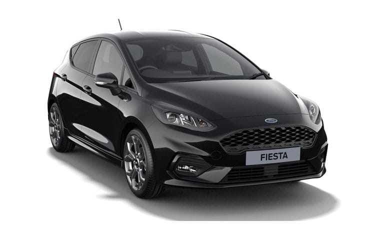 Ford Fiesta Hatch 5Dr 1.0 T EcoBoost MHEV 125PS ST-Line Edition 5Dr Manual [Start Stop] front view
