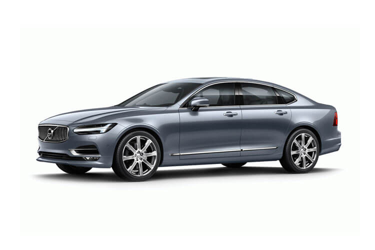 Volvo S90 Saloon AWD PiH 2.0 h T8 11.6kWh 390PS R DESIGN 4Dr Auto [Start Stop] front view