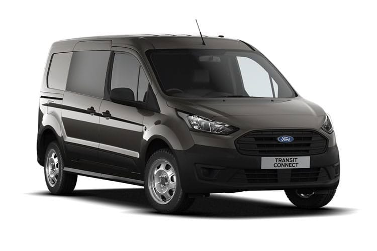 Ford Transit Connect 220 L1 1.5 EcoBlue FWD 100PS Leader Crew Van Auto [Start Stop] [DCiV] front view