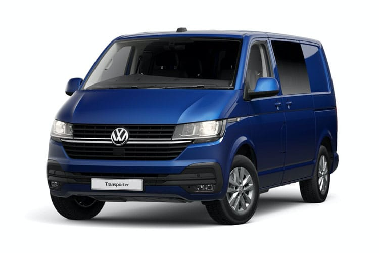 Volkswagen Transporter Kombi T32SWB 4Motion 2.0 BiTDI 4WD 199PS Highline Crew Van DSG [Start Stop] front view