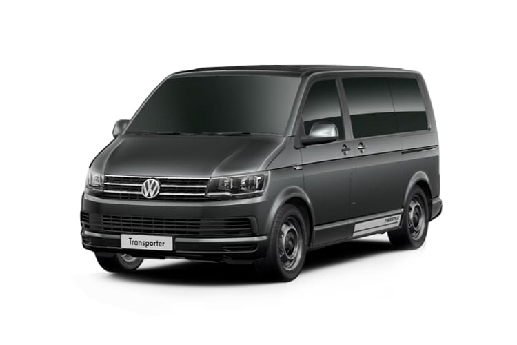 Volkswagen Transporter Shuttle LWB M1 2.0 TDI FWD 110PS SE Minibus Manual [Start Stop] front view
