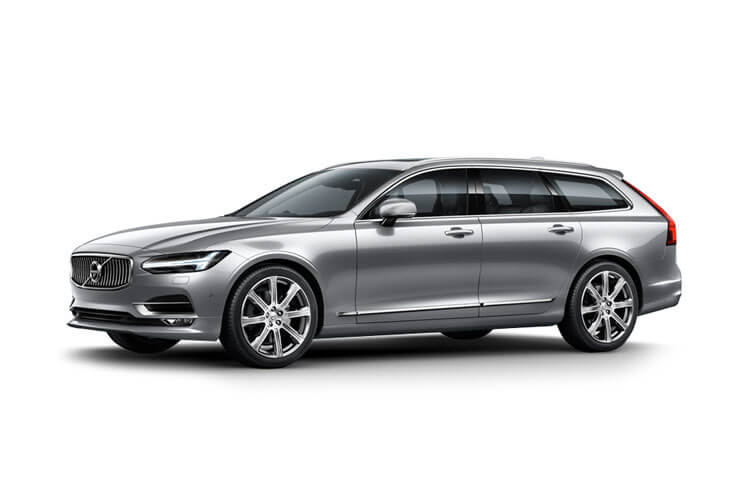 Volvo V90 Estate 2.0 B5 MHEV 250PS R DESIGN 5Dr Auto [Start Stop] front view