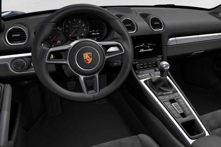 Porsche 718 Boxster Convertible 2.0 T 300PS  2Dr Manual [Start Stop] inside view