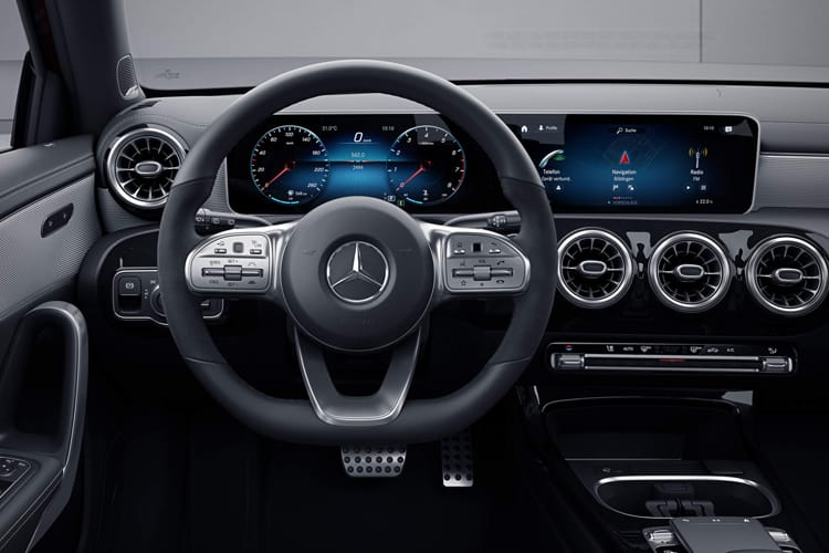 Mercedes-Benz A Class A180 Saloon 4Dr 2.0 d 116PS AMG Line Premium 4Dr 8G-DCT [Start Stop] inside view