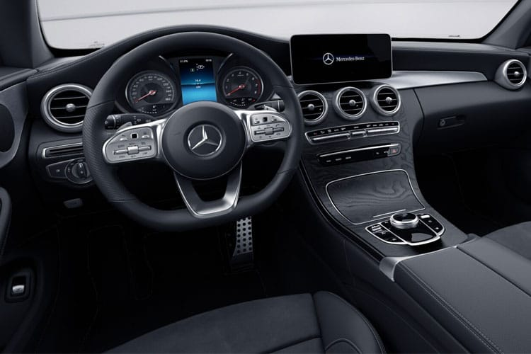Mercedes-Benz C Class AMG C43 Coupe 4MATIC 3.0 V6 390PS Premium 2Dr G-Tronic+ [Start Stop] inside view