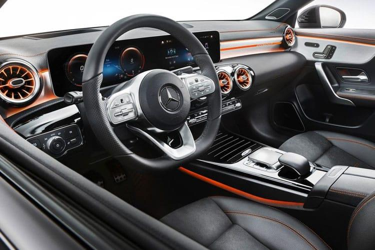 Mercedes-Benz CLA CLA180 Coupe 4Dr 1.3  136PS AMG Line Premium 4Dr 7G-DCT [Start Stop] inside view