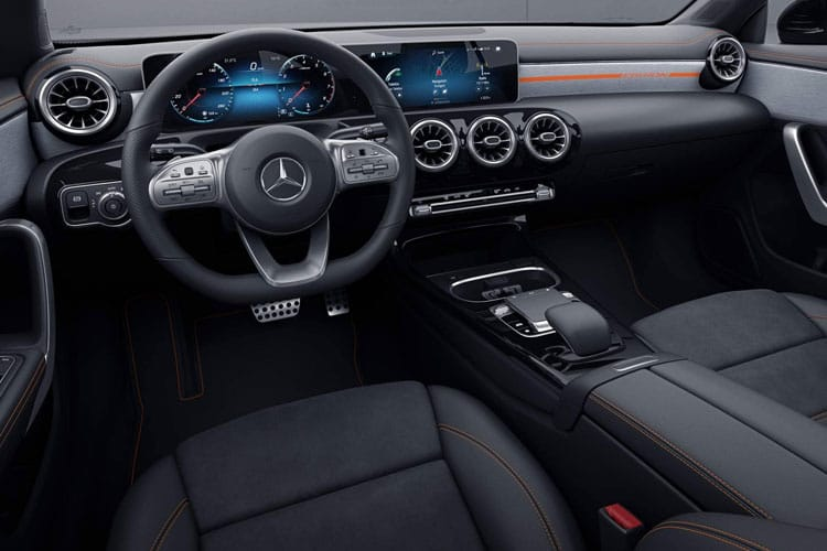 Mercedes-Benz CLA CLA250 Shooting Brake 2.0  224PS AMG Line 5Dr 7G-DCT [Start Stop] inside view