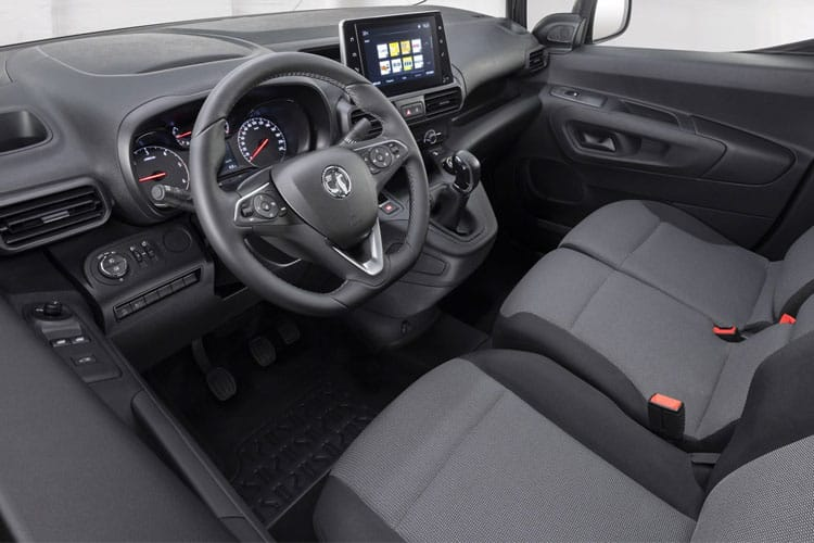 Vauxhall Combo Cargo L2 2300 1.5 Turbo D FWD 100PS Sportive Van Manual [Start Stop] inside view