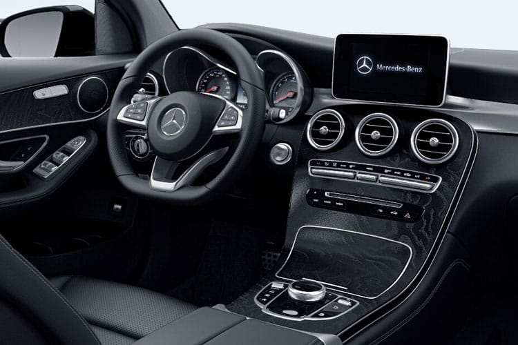 Mercedes-Benz GLC AMG GLC63 Coupe 4MATIC+ 4.0 V8 BiTurbo 476PS Premium Plus 5Dr SpdS MCT [Start Stop] inside view