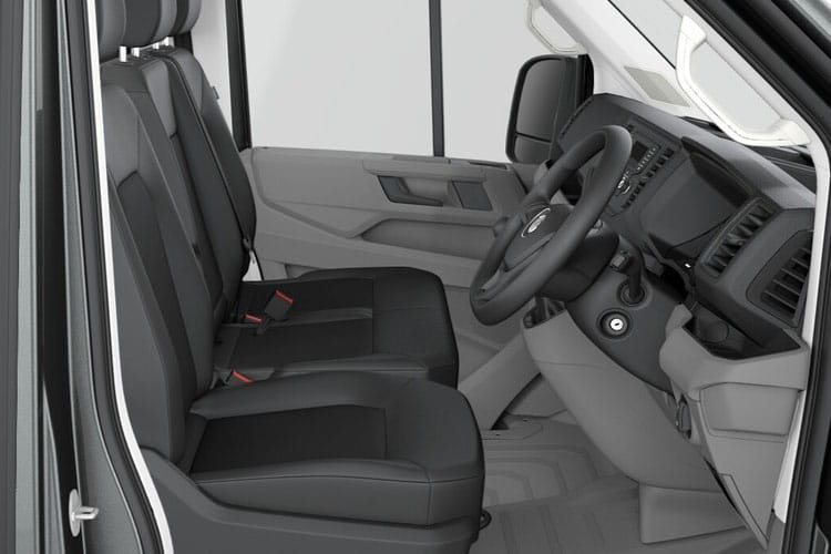 Volkswagen Crafter CR35LWB FWD 2.0 TDI FWD 177PS Startline Business Chassis Double Cab Manual [Start Stop] inside view