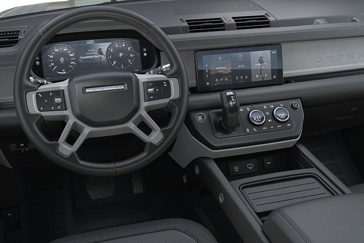 Land Rover Defender 110 SUV 5Dr 2.0 P 300PS S 5Dr Auto [Start Stop] [Family Pack] inside view