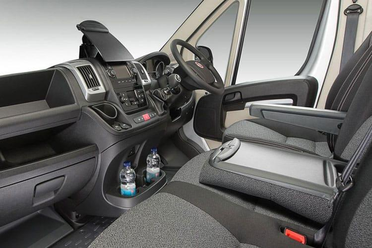 Fiat Ducato HGV 40 Maxi XLB LWB 2.3 Multijet Power FWD 180PS  Dropside Double Cab Manual [Start Stop] inside view