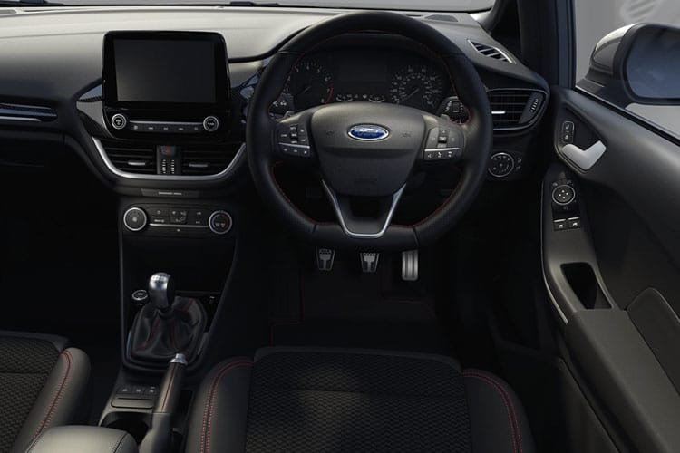 Ford Fiesta Hatch 5Dr 1.0 T EcoBoost MHEV 125PS ST-Line Edition 5Dr Manual [Start Stop] inside view