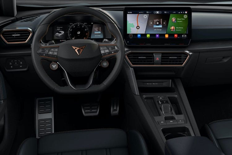 CUPRA Formentor SUV 4Drive 2.0 TSI 310PS VZ3 5Dr DSG [Start Stop] inside view