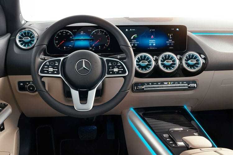 Mercedes-Benz GLA GLA250 SUV 2.0  224PS AMG Line Executive 5Dr 8G-DCT [Start Stop] inside view