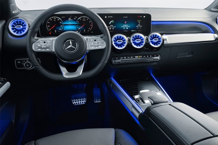 Mercedes-Benz GLB GLB220 SUV 4MATIC 2.0 d 190PS AMG Line Premium 5Dr G-Tronic [Start Stop] inside view