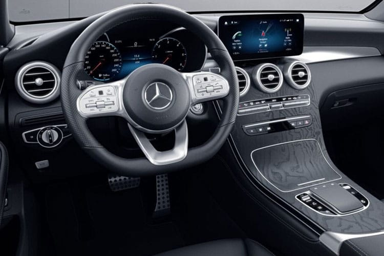 Mercedes-Benz GLC AMG GLC63 SUV 4MATIC+ 4.0 V8 BiTurbo 510PS S 5Dr SpdS MCT [Start Stop] inside view